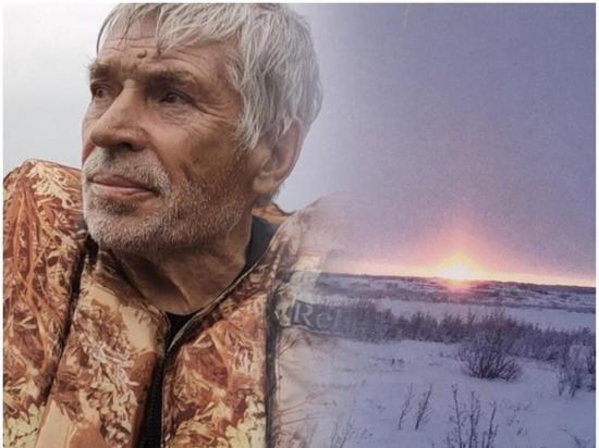 Человек-тундра: 77-летний пенсионер из Томска отправился в дикую глушь, чтобы сжечь охотничью базу погибшего сына