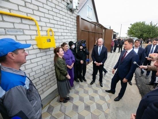 В новом микрорайоне Усть-Джегуты начали бесплатное подключение к газу