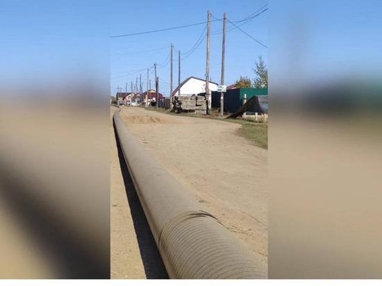 В микрорайоне Якутска до конца сентября достроят газовые сети