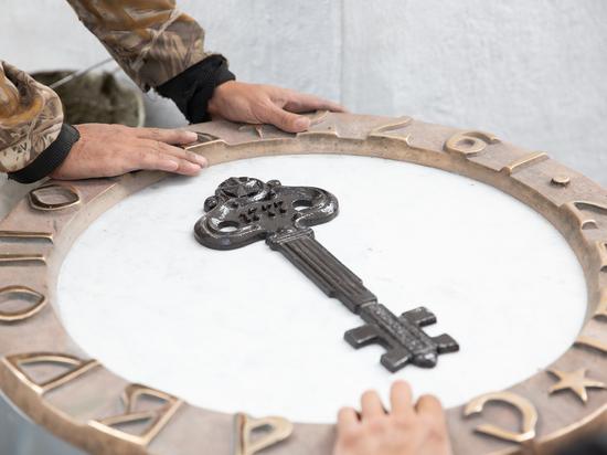 В Ставрополе вернули на место символический ключ от города
