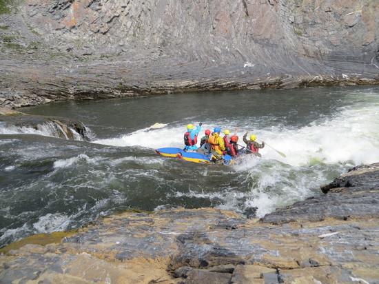 Тамбовская сборная Державинского университета преодолела почти 160 километров по рекам Заполярья