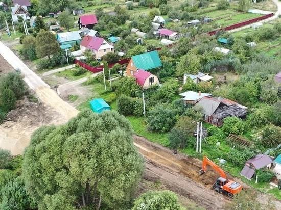 Новая дорога скоро соединит две деревни у Серпухова