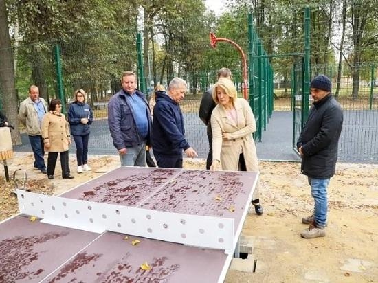 До открытия одного из лучших парков Серпухова осталось меньше месяца