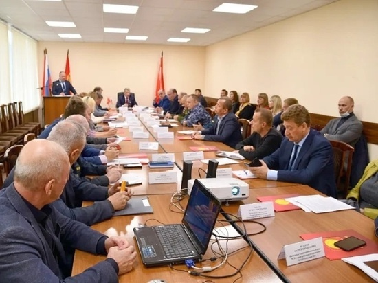 Внеочередное заседание чрезвычайной комиссии состоялось в Серпухове