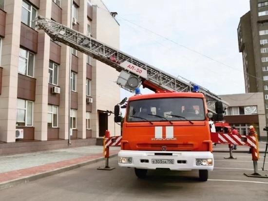 В администрации Серпухова работали экстренные службы