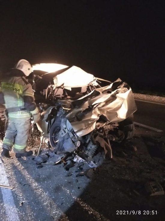 На Ставрополье в ДТП с грузовиком погибли два человека и пострадал ребенок