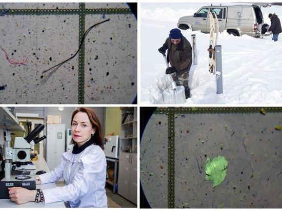 Томские ученые впервые в России нашли пластик в дожде и снеге
