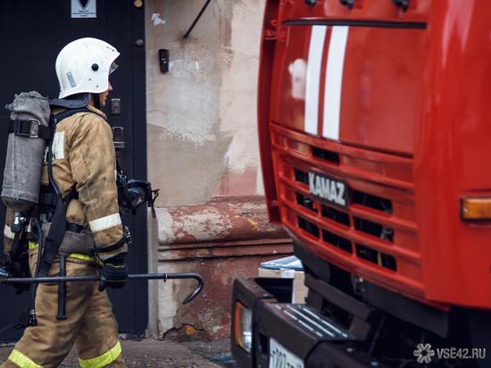 В Кузбассе на пожаре погибли два брата