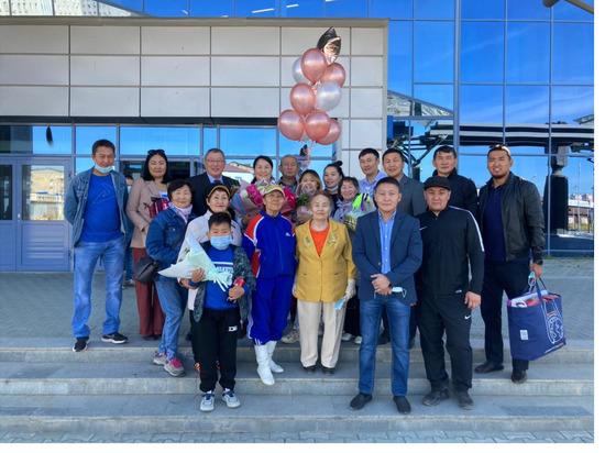 В Якутск прилетела участница Паралимпийских игр Алена Дмитриева
