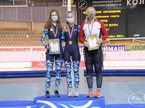 Нижегородские конькобежцы завоевали 12 медалей на всероссийских соревнованиях