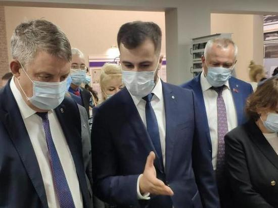 Брянский губернатор посетеил «Термотрон-Завод»