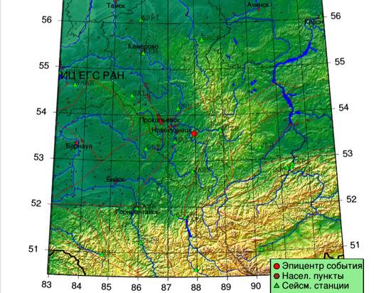 Под Новокузнецком из-за действий угольщиков случилось землетрясение