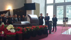 На прощании с Красновым Валерий Сюткин рассказал о его чувстве юмора
