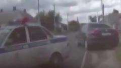 Видео погони сотрудников ГИБДД за 16-летней девушкой за рулем Volkswagen в курском Льгове