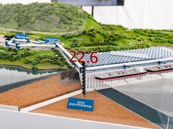 Через неделю возобновится строительство порта Лавна