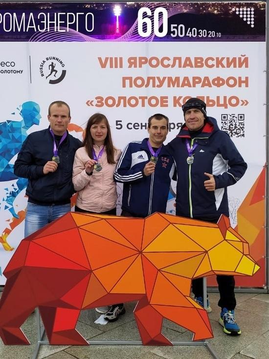 Спортсмены «Костромаэнерго» – серебряные медалисты полумарафона «Золотое кольцо – 2021»