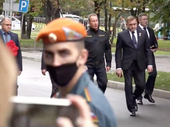 Губернатор Тульской области простился с Евгением Зиничевым