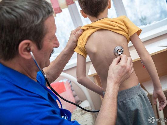В Кузбассе изменили график работы «красных зон» в детских поликлиниках