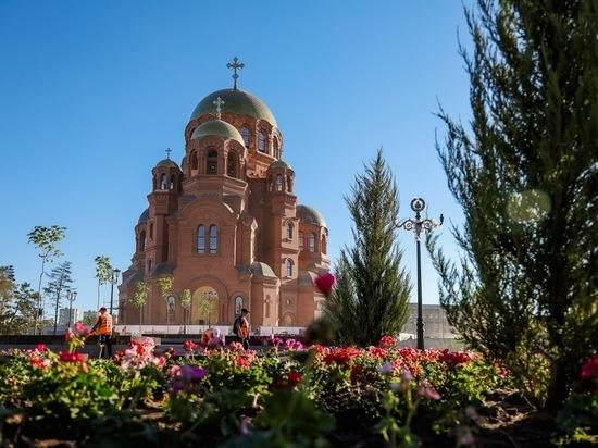 В Волгограде у собора Александра Невского откроют выставку и погасят марку