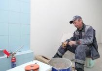 Внутренняя отделка помещений началась в здании будущей детской поликлиники в Новом Уренгое