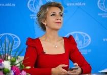 Захарова разобрала заявление Зеленского о «войне с Россией»