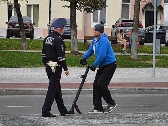 Роллеры и самокатчики Серпухова пообщались с полицией