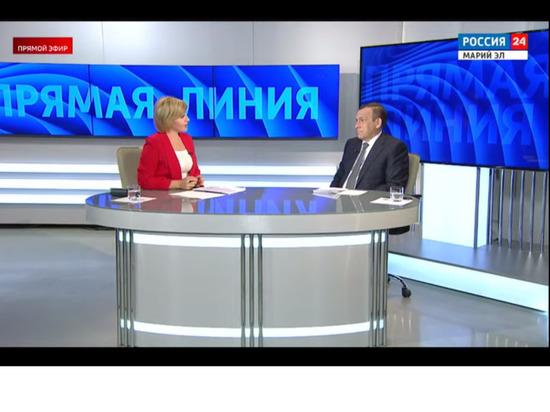 Глава Марий Эл ответил на вопросы жителей республики