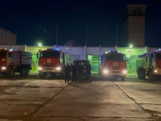 В Якутии к Всероссийской акции в память о Евгение Зиничеве присоединились пожарные города Удачный