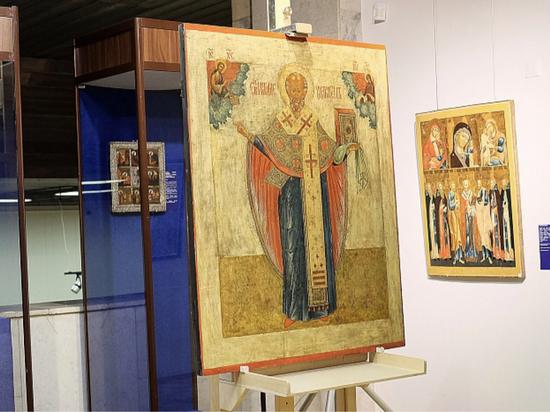 Коллекционеры из Москвы отреставрировали вятскую икону