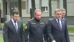 Ярославский губернатор простился с министром МЧС