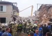 Третьего погибшего нашли после взрыва газа в доме под Ельцом
