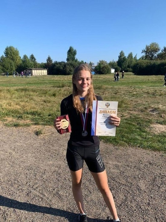Ставропольчанка завоевала «серебро» на первенстве России по дуатлону