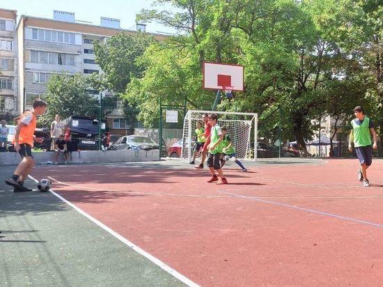 Дворовой футбол стал предметом обсуждения в Железноводске