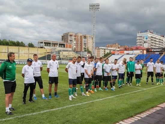 Первый тайм матча «Томи» и «Краснодара-2» завершился со счетом 1:0