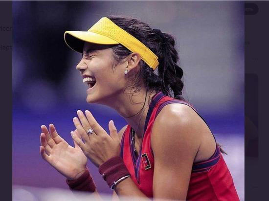 Британская теннисистка Радукану выиграла US Open