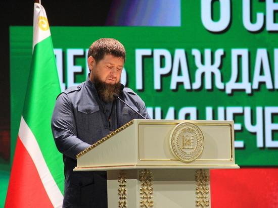 Глава Чечни стал вторым в рейтинге региональных лидеров России