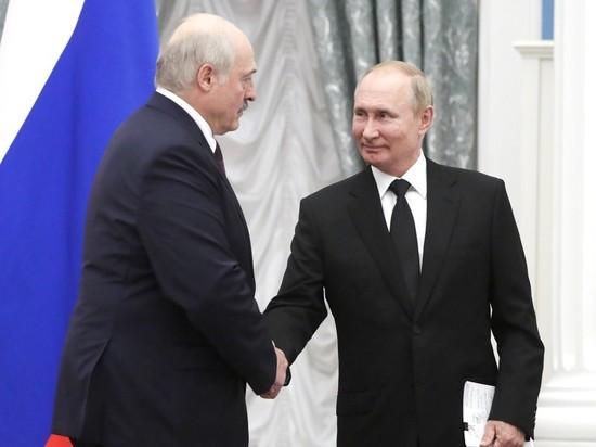 Стало известно содержание закрытой части беседы президентов России и Белоруссии