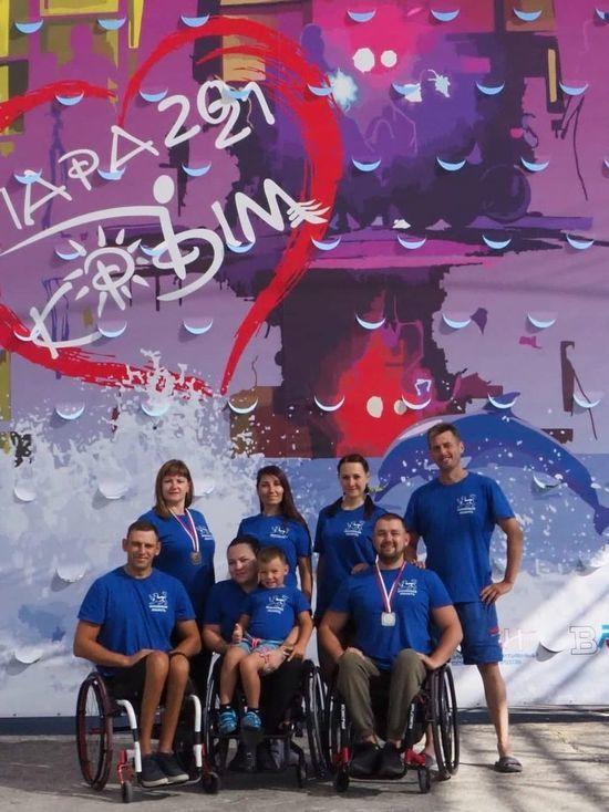 Псковичи завоевали первые награды на спортфестивале «Пара-Крым»