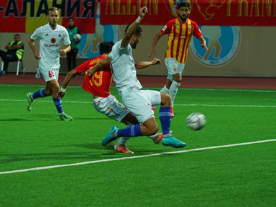 Футболисты из Владикавказа были явно лучше подготовлены к этому матчу