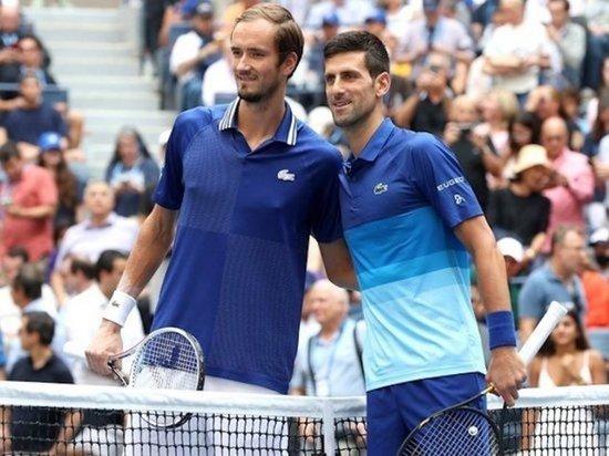 Медведев обыграл Джоковича в финале теннисного турнира US Open