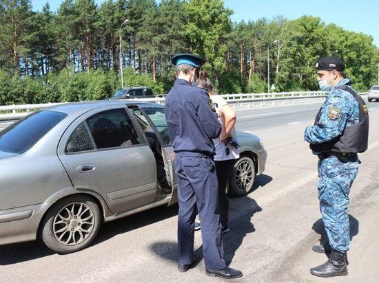 На въезде в Кемерово судебные приставы арестовали пять автомобилей