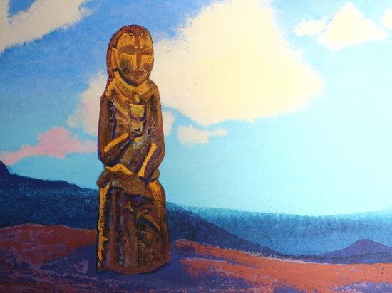 В Улан-Удэ работает экспозиция картин Николая Рериха о Монголии