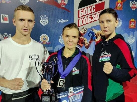Карельская боксёрша привезла серебро со Всероссийских соревнований