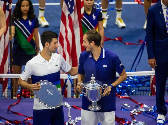 Джокович обратился к Медведеву после поражения в финале US Open