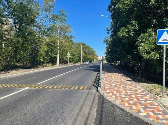 В Ставрополе отремонтировали километровый участок дороги