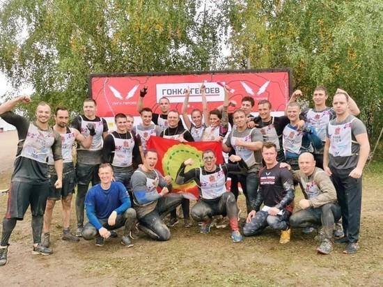 Команда из Серпухова успешно прошла «Гонку героев»