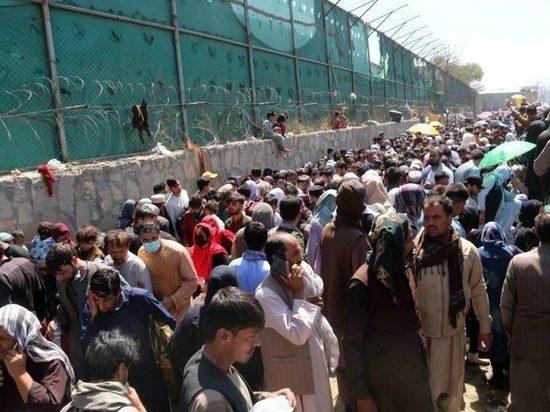 Германия: Афганских беженцев временно разместили в Гиссене