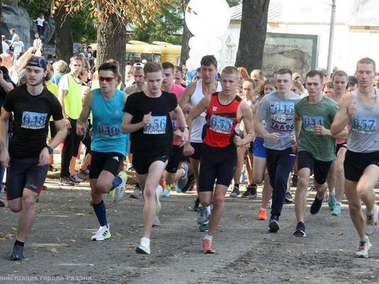 В Кремлевском парке прошли соревнования «Рязанская соборная верста»