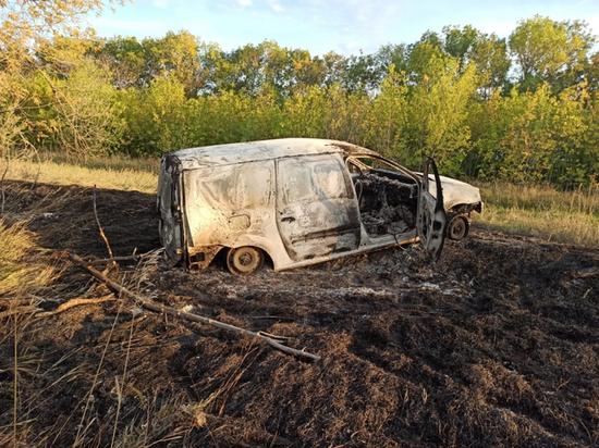 Волгоградец написал ложный донос об угоне сгоревшей служебной машины