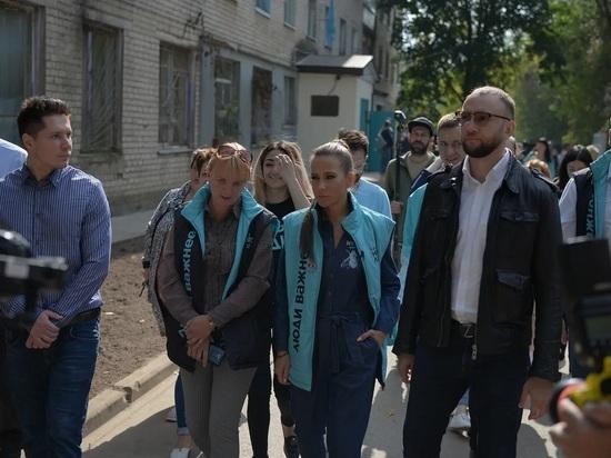 Телеведущая Юлия Барановская вместе с Новыми людьми проверила ход ремонта общежития в Калуге